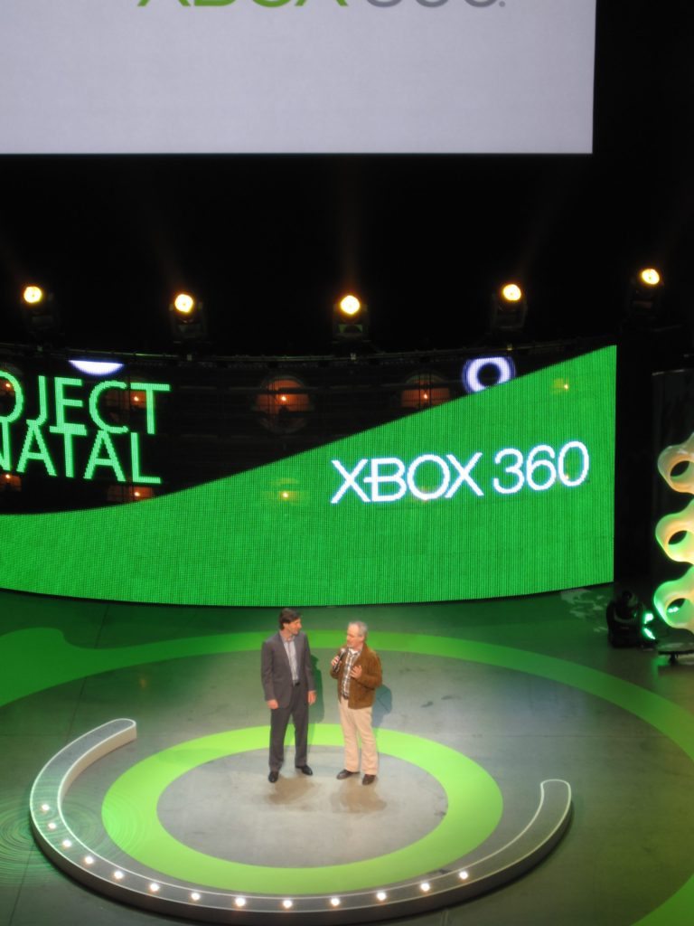 Steven Spielberg at Xbox Project Natal Launch